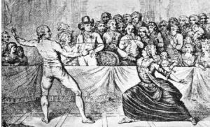 Duel des Chevaliers Saint-George et d'Eon à Londres le 9 avril 1787