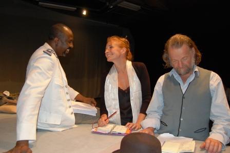 Hassane Kouyate, Morgane Lombard, Philippe Dormoy