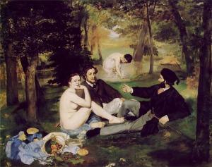 Le déjeuner sur l'herbe d'Edouard Manet