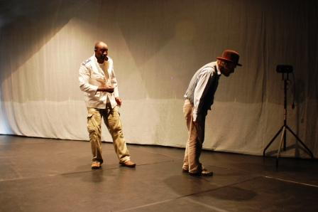 Hassan Koyaté (Othello) Philippe Dormoy (Shylock)